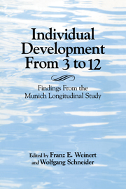 Individual Development from 3 to 12