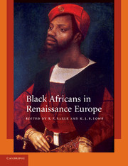 Black Africans in Renaissance Europe