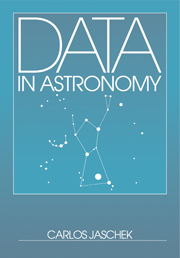 Data in Astronomy