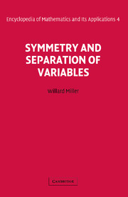 Symmetry and Separation of Variables
