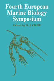 Fourth European Marine Biology Symposium