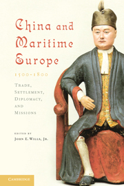 China and Maritime Europe, 1500–1800