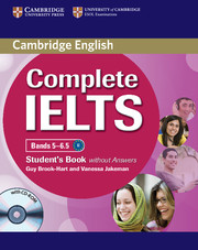 Complete IELTS Bands 5-6.5 Student's Book without Answers with Audio CDs