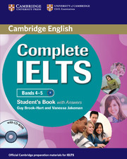 Complete IELTS Bands 4–5 Student's Book with Answers with Audio CDs
