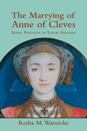 The Marrying of Anne of Cleves