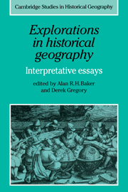 Explorations in Historical Geography