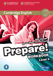 Cambridge English Prepare! Level 4 Workbook with Audio