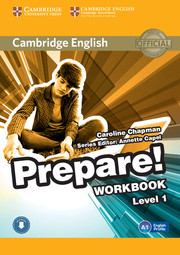 Cambridge English Prepare! Level 1 Workbook with Audio