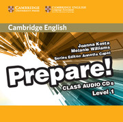 Cambridge English Prepare! Level 1 Class Audio CDs (2)