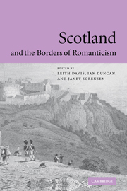 Scotland and the Borders of Romanticism