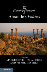 The Cambridge Companion to Aristotle's Politics