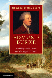The Cambridge Companion to Edmund Burke