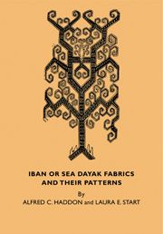 Iban or Sea Dayak Fabrics and their Patterns