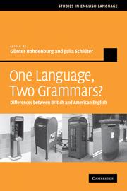 One Language, Two Grammars?