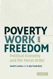 Poverty, Work, and Freedom