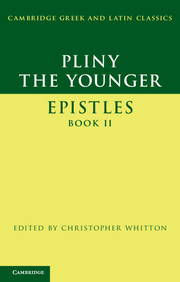 Pliny the Younger: 'Epistles' Book II
