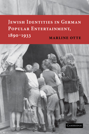 Jewish Identities in German Popular Entertainment, 1890–1933