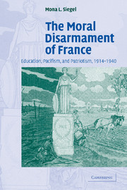 The Moral Disarmament of France