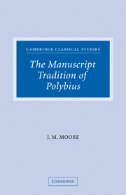 The Manuscript Tradition of Polybius