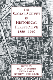 The Social Survey in Historical Perspective, 1880–1940