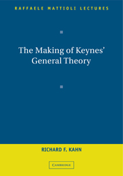 The Making of Keynes' General Theory