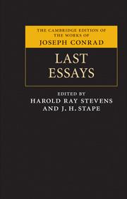Last Essays