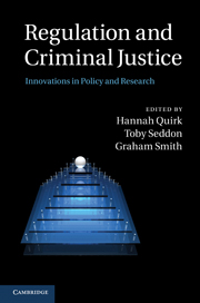 Regulation and Criminal Justice