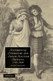Sentimental Literature and Anglo-Scottish Identity, 1745–1820