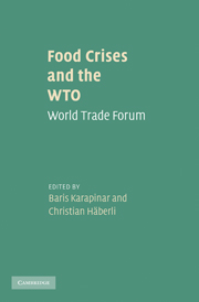 Food Crises and the WTO