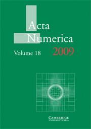Acta Numerica 2009