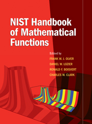 NIST Handbook of Mathematical Functions Hardback and CD-ROM