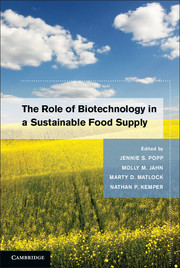 The Role of Biotechnology in a Sustainable Food Supply