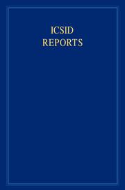 ICSID Reports