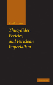 Thucydides, Pericles, and Periclean Imperialism