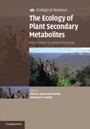 The Ecology of Plant Secondary Metabolites
