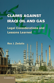 Claims against Iraqi Oil and Gas
