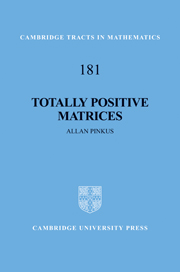 Totally Positive Matrices