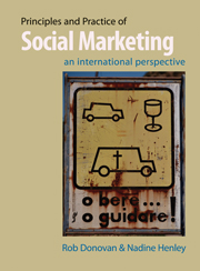 Principles and Practice of Social Marketing