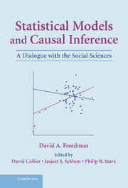 Statistical Models and Causal Inference