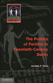 The Politics of Fertility in Twentieth-Century Berlin