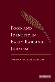 Food and Identity in Early Rabbinic Judaism