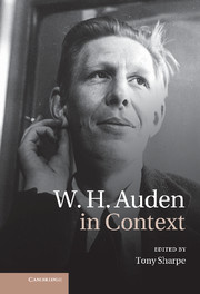 W. H. Auden in Context