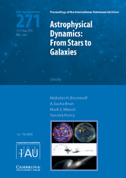 Astrophysical Dynamics (IAU S271)