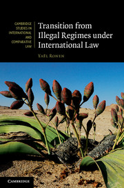Transition from Illegal Regimes under International Law