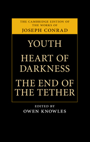 Youth, Heart of Darkness, The End of the Tether
