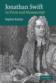 Jonathan Swift in Print and Manuscript