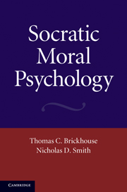 Socratic Moral Psychology