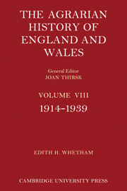 The Agrarian History of England and Wales