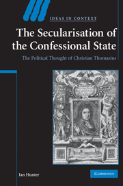 The Secularisation of the Confessional State