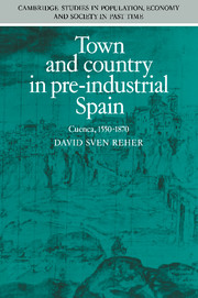 Town and Country in Pre-Industrial Spain